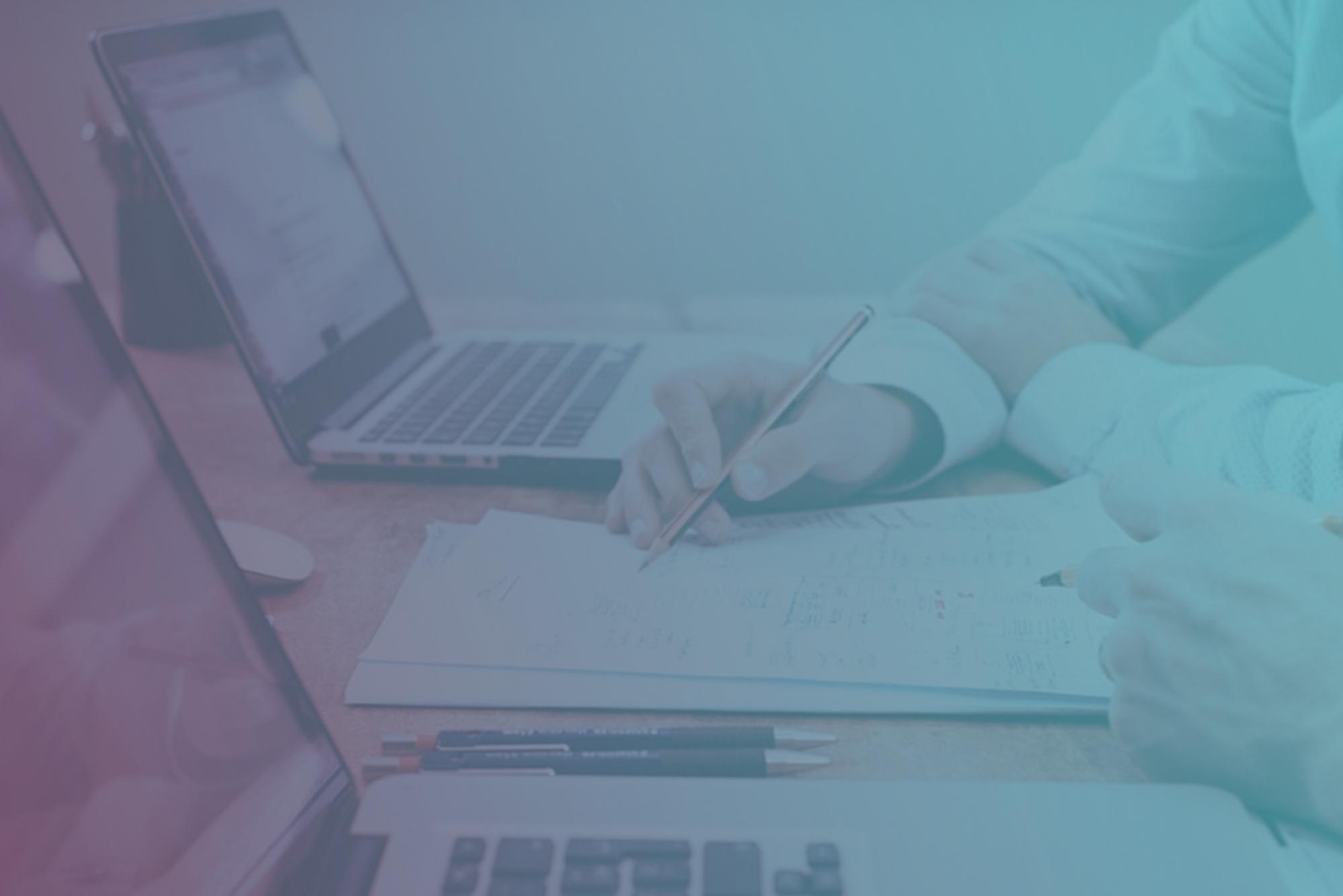 Rechnungen, Cloud, KI und Mittelstand_Landing Page