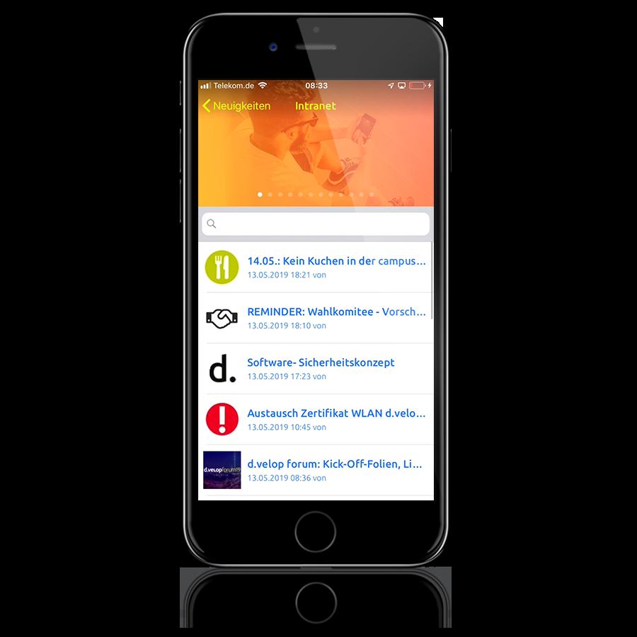 dvelop-Mitarbeiter-App-Demo_Smartphone